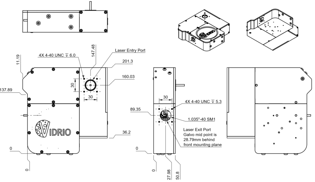 A resonant-galvo-galvo module from Vidrio/ScanImage – Labrigger